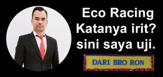 bro ron menantang eco racing